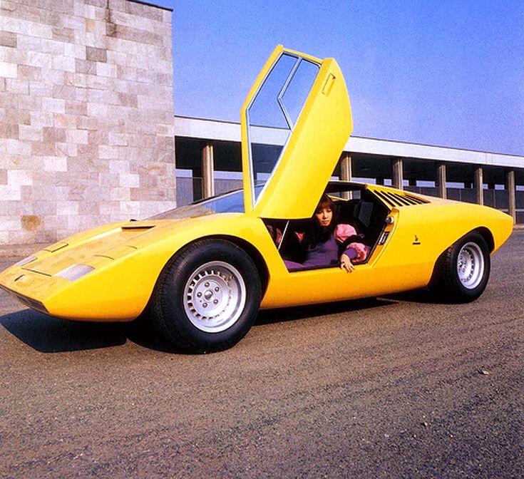 Sketchbook Historic Cars : An Italian Masterpiece   Lamborghini Countach    Prototipo 1971   Designer Marcello