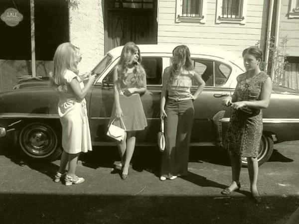 70s #birzamanlar #kadınlar #nostalji #istanlook