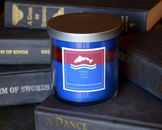 Hey, I found this really awesome Etsy listing at https://www.etsy.com/listing/270448737/house-tully-game-of-thrones-candle