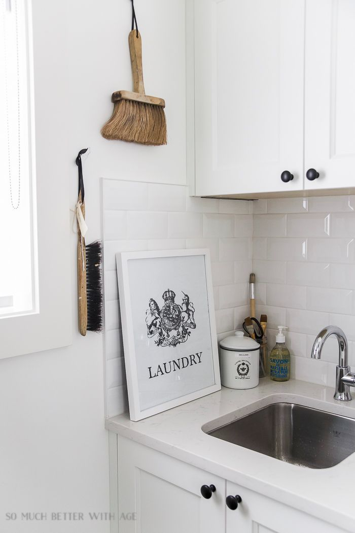 The Best Vintage Laundry Room Decor + Giveaway | So Much Better With Age