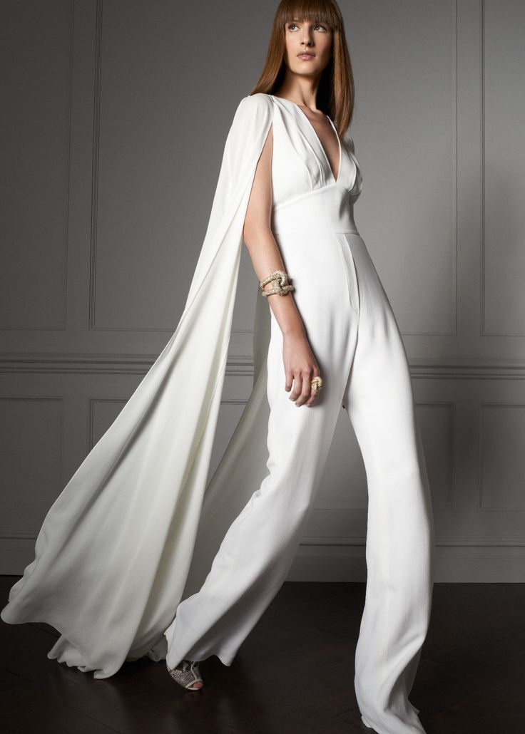 Elie Saab Resort 2017 White Jumpsuit Pants What S Not To Like About This Find Pin And More On Bridal Pant Suits