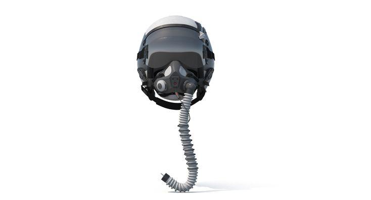 F18 Helmet HGU-68P MBU-23P oxygen mask, alin naidin on ArtStation at https://www.artstation.com/artwork/ZQEKw