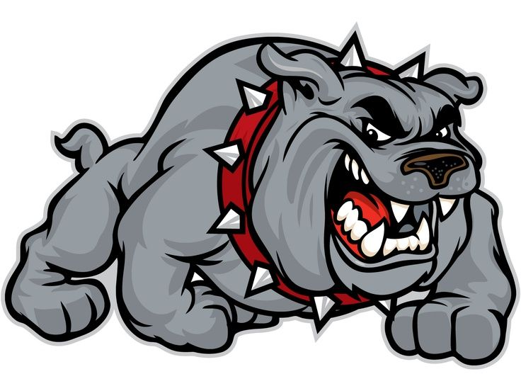 Bulldogs On Clip Art Blue Bulldog And Mississippi Image 3