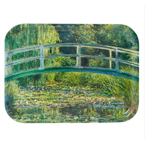 Plateau inspiré du tableau Le Pont Japonais de #Monet Prix 26 euros TTC