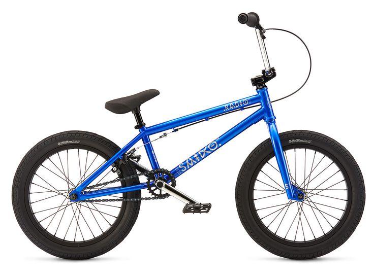 "Radio Bikes ""Saiko 18"" 2017 BMX Bike - 18 Inch | Metallic Blue | kunstform BMX Shop & Mailorder - worldwide shipping"