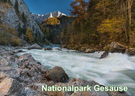 Nationalpark Gesäuse, Foto: Andreas Hollinger