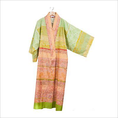 Kimono Montalcino grön, Granfoulard