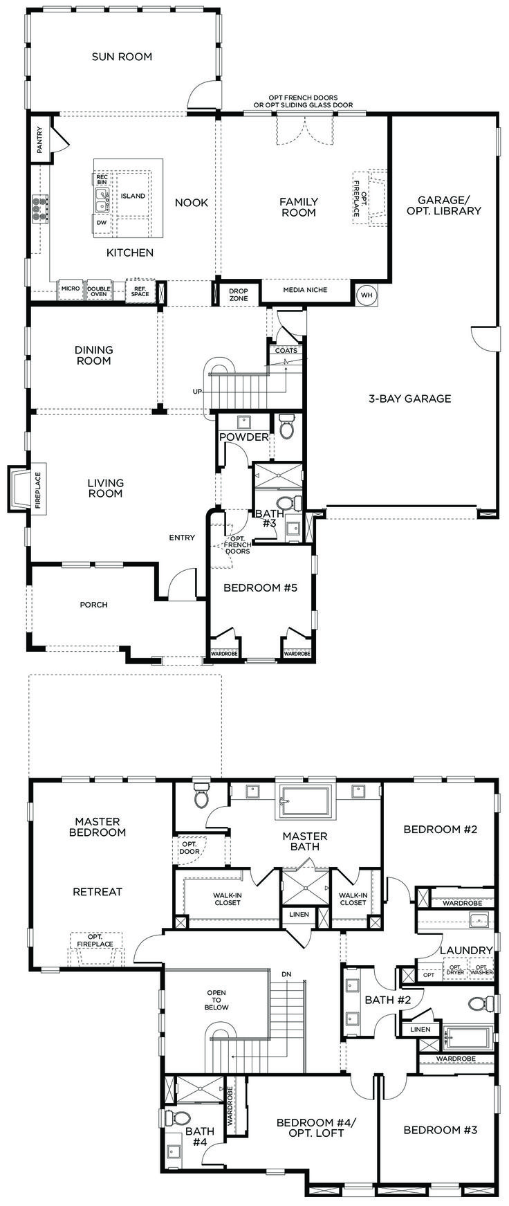 138 best house plans images on pinterest house template floor watermark plan 1a ccuart Choice Image