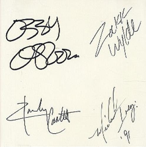 Ozzy Osbourne Autograph | Ozzy Osbourne No More Tears - AUTOGRAPHED USA Promo CD…