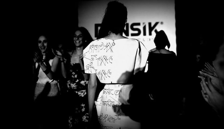 Maria Pampory's presentation during PANSIK scuola di moda summer'14 fashion show took Futuracha to a whole new level.  You can currently download the Futuracha display font for free, but stay tuned because we ourselves are currently working on taking it a step further too!