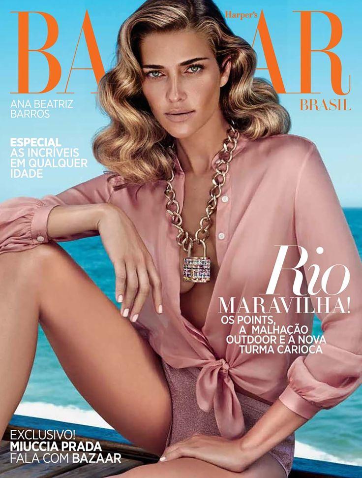 awesome Harper's Bazaar Brazil October 2014 | Ana Beatriz Barros by Fabio Bartelt  [Fashion]