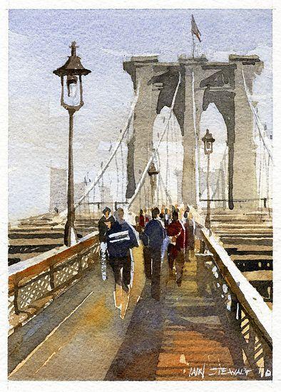 Walking the Bridge by Iain Stewart