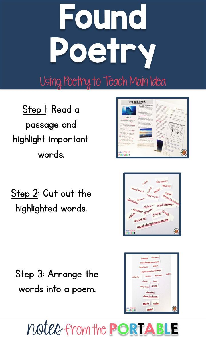 260 best images about Poetry Ideas for the Classroom on Pinterest ...