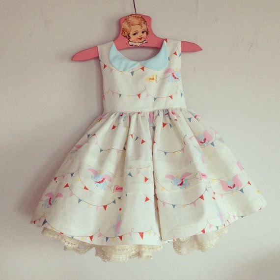 Baby's First Trip to Disney Dress with Peter by aggieandfrancois
