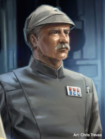 Gilad Pellaeon - Imperial officer introduced in Timothy Zahn's Thrawn trilogy who rises to lead the Imperial Remnant.