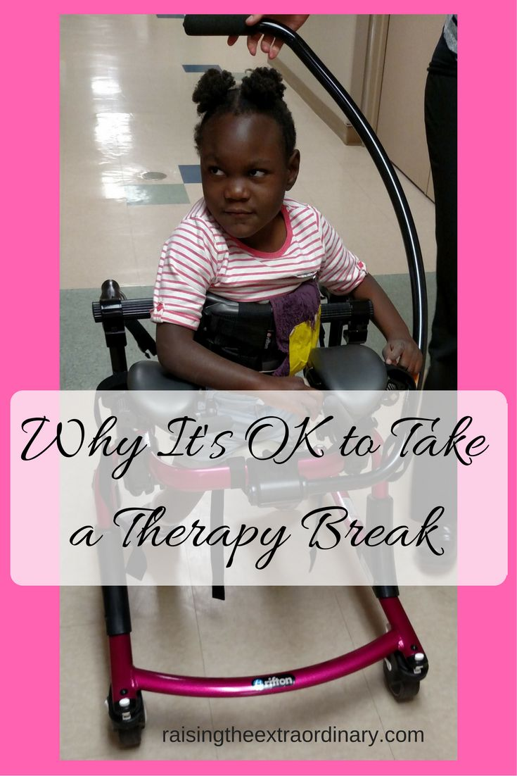 Who needs physical therapy - Why It S Ok To Take A Therapy Break