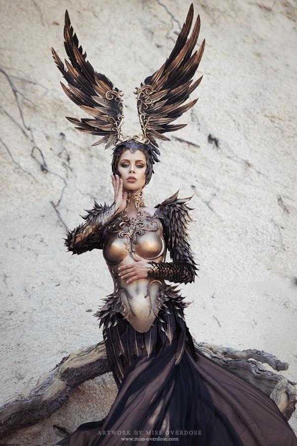 kamikame-cosplay:    Model,make-up,retouch: Model Ophelia OverdosePhotographer: Moritz Maibaum PhotographyFashion: Fairytas