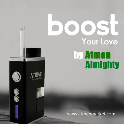 Atman Almighty Marijuana Vaporizer , one of the most advanced electronic herbal vaporize box kit #AtmanAlmighty