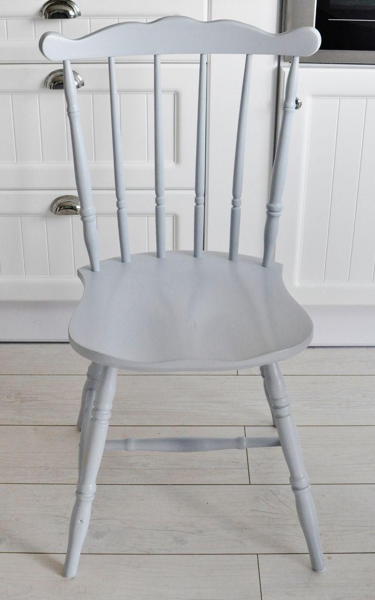 szare krzesło, skandynawskie krzesła,szare krzesło, chair, grey, white home