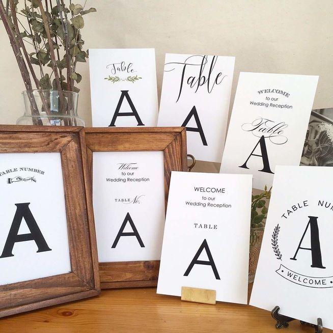 《12枚セット》テーブルナンバー