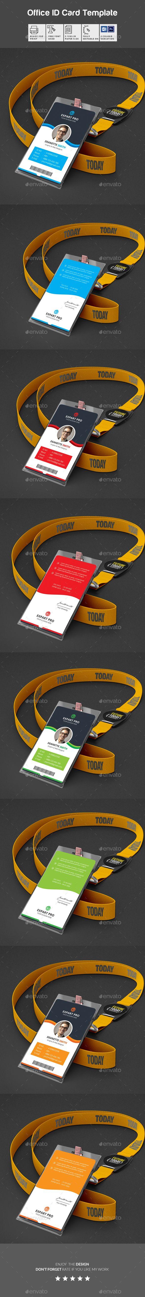83 best ID Card Design Templates images on Pinterest | Logotipo de ...