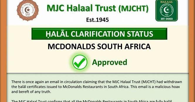 Benarkah Majelis Ulama Amerika Telah Mencabut Sertifikasi Halal Untuk McD, KFC, Pizza Hut, & Dominos ?