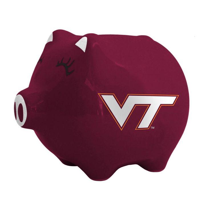 Boelter Virginia Tech Hokies Piggy Bank, Multicolor