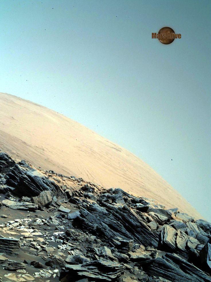 Beautiful Day on Mars!