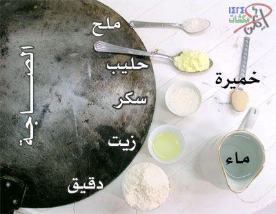 طريقة عمل الخبز على الصاجة في البر V.2 - منتديات مكشات