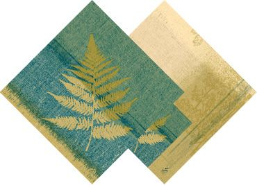 """Landscape"" Wonderful napkin during Autumn"