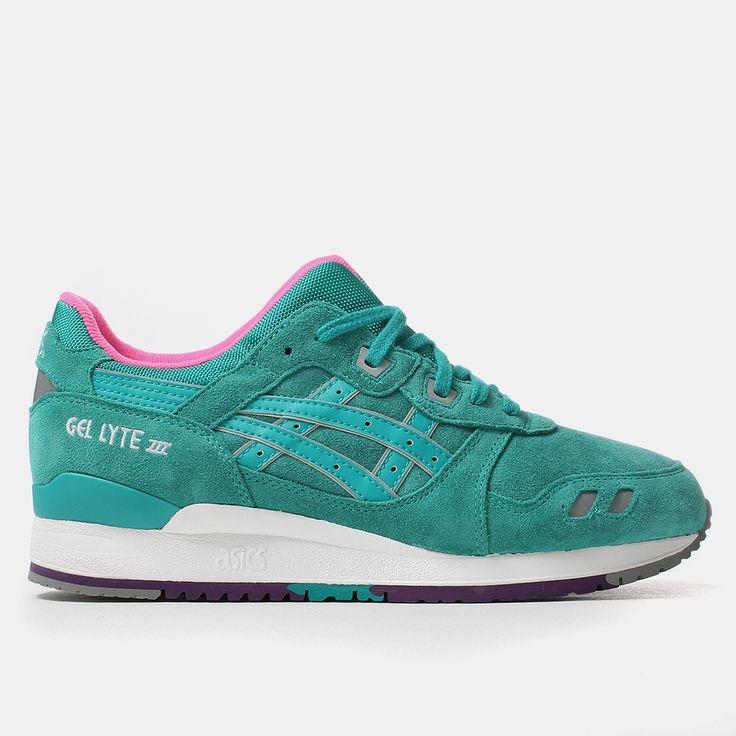 Asics Gel Lyte III Shoes - Tropical Green