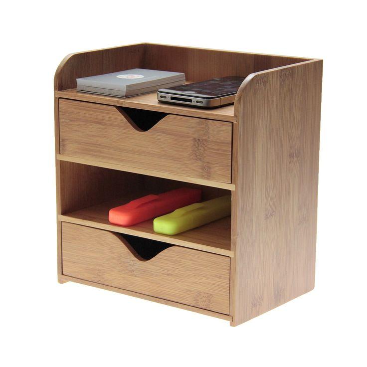 wooden desk tidy woodquail 4 tier desk organiser