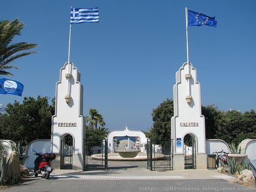 Kallithea Beach,Rhodes location information details - Guide2Rhodes