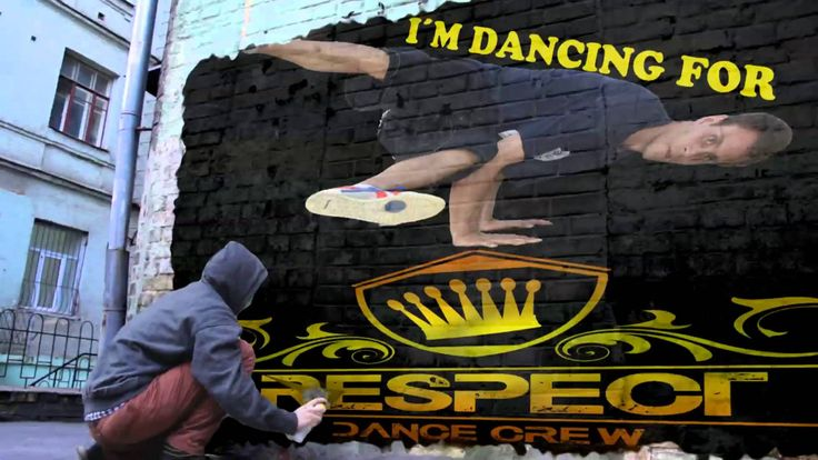 I´m dancing for Respect Dance Crew