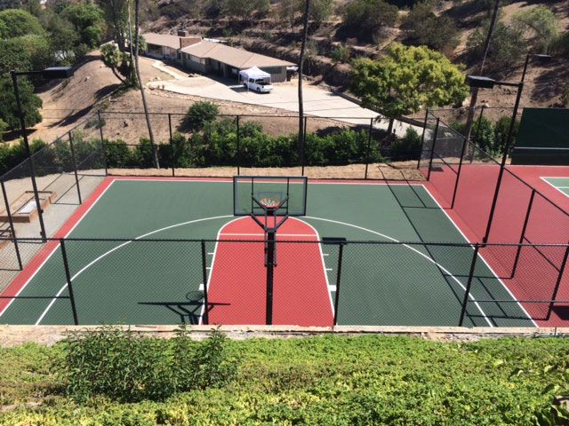 1000 images about beautiful basketball courts on for Personal basketball court