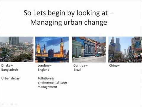 Revise OCR AS Geography - Urban Change/Environments ! :)