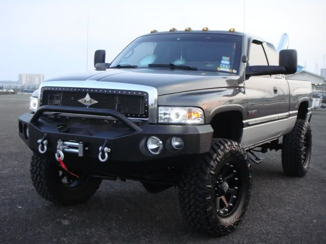 My NEW BUMPERS!!!! - Dodge Cummins Diesel Forum