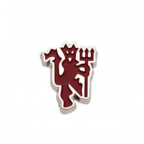 Metal Badge - Manchester United F.C (Red Devil)