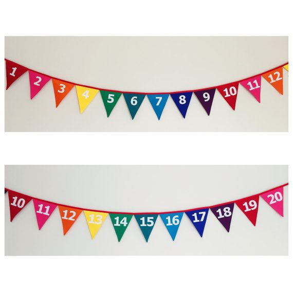 This fabric bunting is made from 100% cotton.  Fabulous way to brighten up a classroom or playroom. This bunting measures 3.8 metres, (20 flags) each flag measures 16cm across and 20cm from top to tip. Each flag is machine stitched into sturdy binding and are double sided so the same