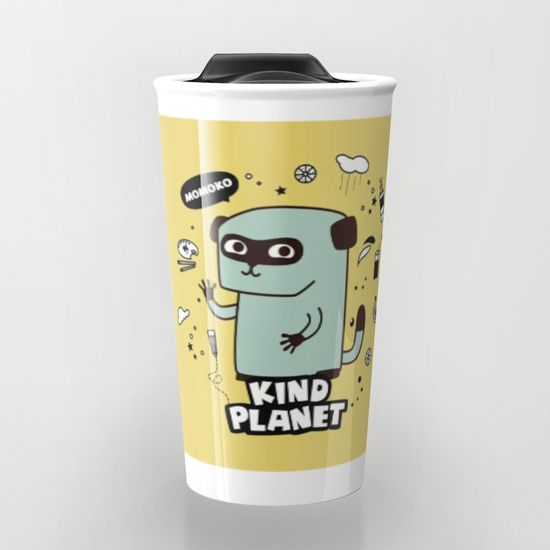 KIND PLANET Travel Mug