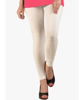 Premium Quality Cream Leggings