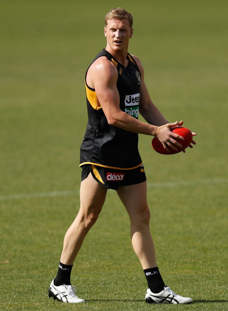 Footy Players: Josh Caddy of the Richmond Tigers