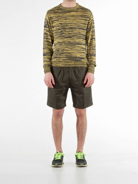 Sweater | Ink Yellow Cotton