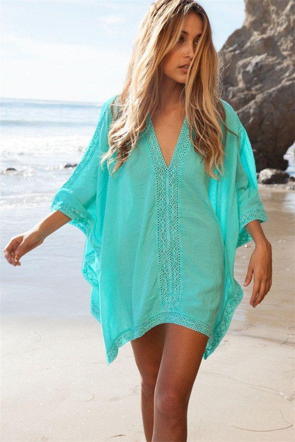 Women Swimsuit Cover up Beachwear