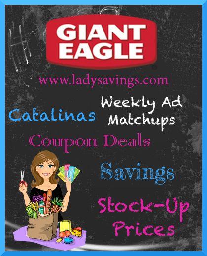 Giant eagle coupon book