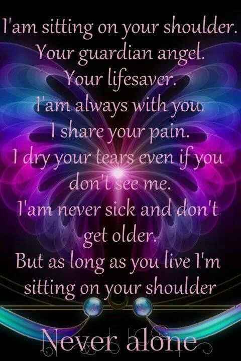 For my guardian angel...My Mom