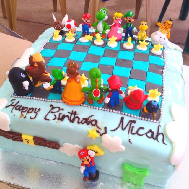 Mario cake for my nephew!