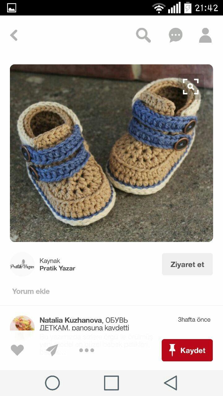 83 besten PATİK Bilder auf Pinterest   Stricken babyschuhe ...