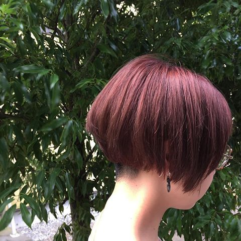 pink!!♪ hair...@lobby_megumi #LOBBY #lobbyhairdesign #ロビー#ロビーヘアデザイン #伊那市#伊那市美容室 #松本市 #南箕輪村 #南箕輪村美容室 #南箕輪美容室 #髪型#ヘアスタイル#髪色#LOBBYのお客様 #ダブルカラー#ブリーチ#ピンクカラー #夏ヘア#ショートボブ #ショートヘア #ショートカット #ツーブロック#刈り上げ女子