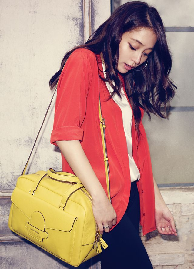 Fourth (And Final?) Batch of Lee Min Jung's Catalogue Shots For Vincis Bench's F/W 2013 Campaign | Couch Kimchi